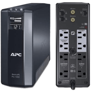 APC POWER BACK-UPS PRO 1000-600WATTS