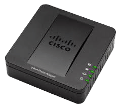 CISCO SPA112 2 PORT ADAPTADOR TELEFONICO