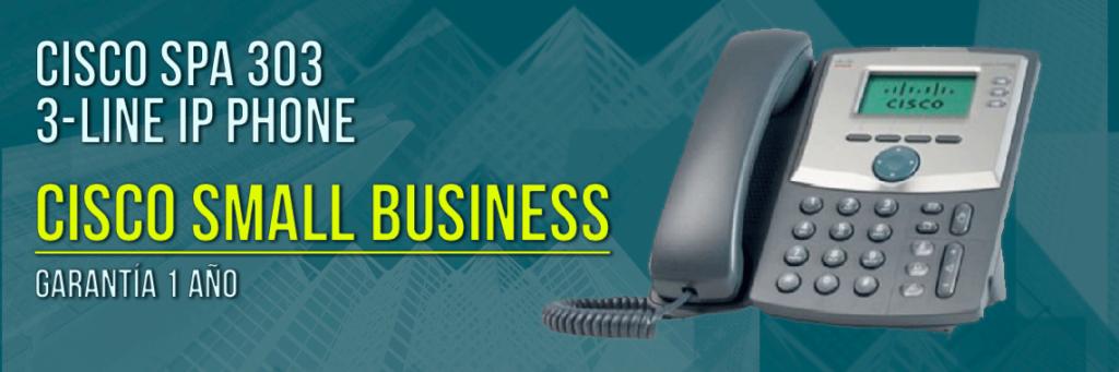 Cisco Spa 303 IP phone Techniservice