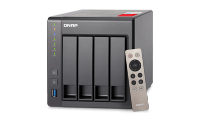 Qnap ts-451+ 4-bay 4x4tb intel 2.0ghz quad-core 2.0GHz 2gb ram