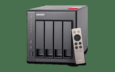 Qnap ts-451+ 4-bay 4x4tb intel 2.0ghz quad-core 2.0GHz 2gb ram