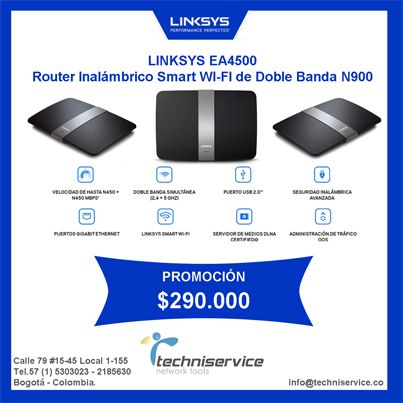 EA4500 Linksys Techniservice