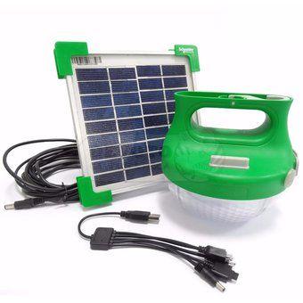Mobiya TS 120S Lampara Solar recargable