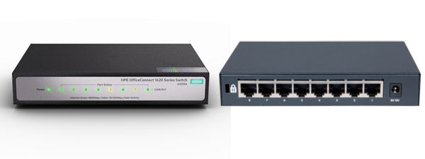 HPE JH329A Switch 8 Puertos officeconnect 1420 8g Techniservice