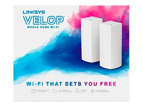 Velop Linksys WHW0302 Paquete de 2 Techniservice