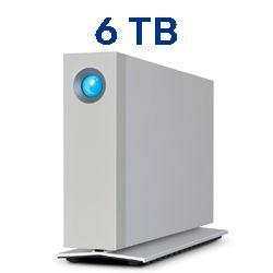 LaCie STFY6000400 6TB D2 Thunderbolt 3 Desktop Drive USB-C USB 3.0