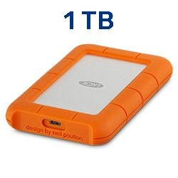 LaCie Rugged USB-C 1TB STFR10008000 Techniservice