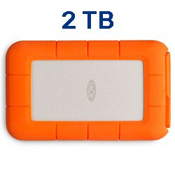 LaCie Rugged USB-C 2TB STFR2000800 Techniservice
