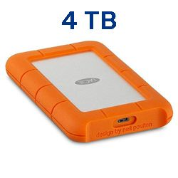 Lacie STFR4000800 4tb rugged usb 3.0 type-c Techniservice