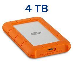 Lacie STFR4000800 4tb rugged usb 3.0 type-c Techniservice